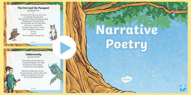 What is a Narrative Poem?